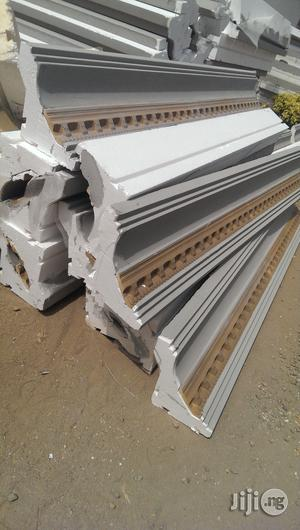 Polystytene Cornices/Parafet and Window Sill   Building Materials for sale in Abuja (FCT) State, Gwarinpa