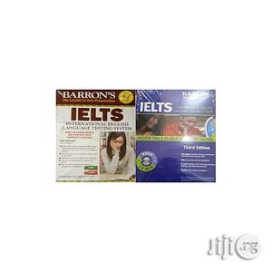 Barron's IELTS With MP3 CD - 5th Edition + Kaplan IELTS Strategies With Practice Tests | Books & Games for sale in Lagos State, Oshodi