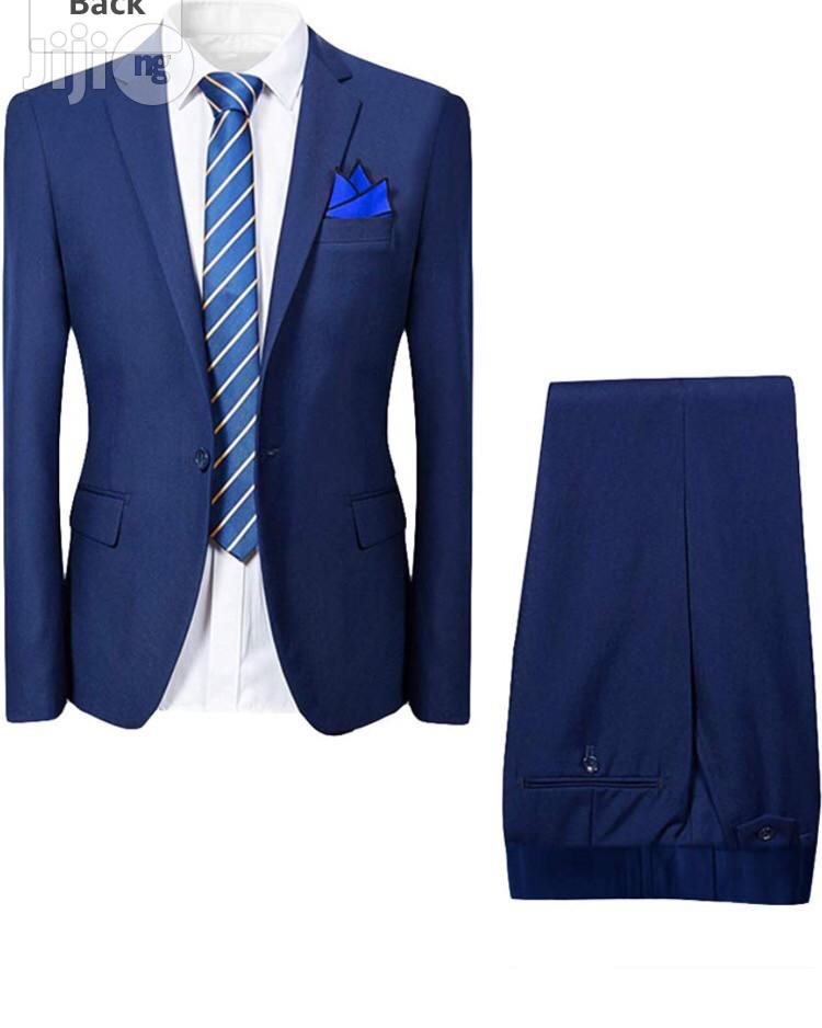 Archive: Mens Smart 2 Piece Suit Slim Fit Dinner Wedding Tuxedo Suits Single Breasted One Button