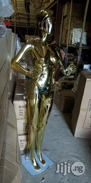 Female R1 Gold Chrome Display Mannequin | Store Equipment for sale in Lagos State, Lagos Island