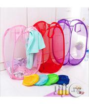 Pop Mesh Foldable Laundry Basket | Home Accessories for sale in Lagos State, Surulere