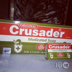 Crusader Medicated Soap (Pack of 12)   Bath & Body for sale in Lagos State, Ikotun/Igando
