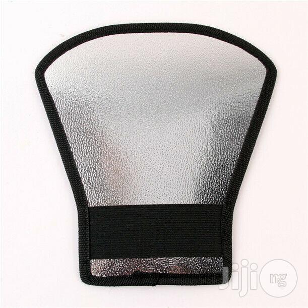 Flash Diffuser Softbox Silver/White Reflector For Camera Flash