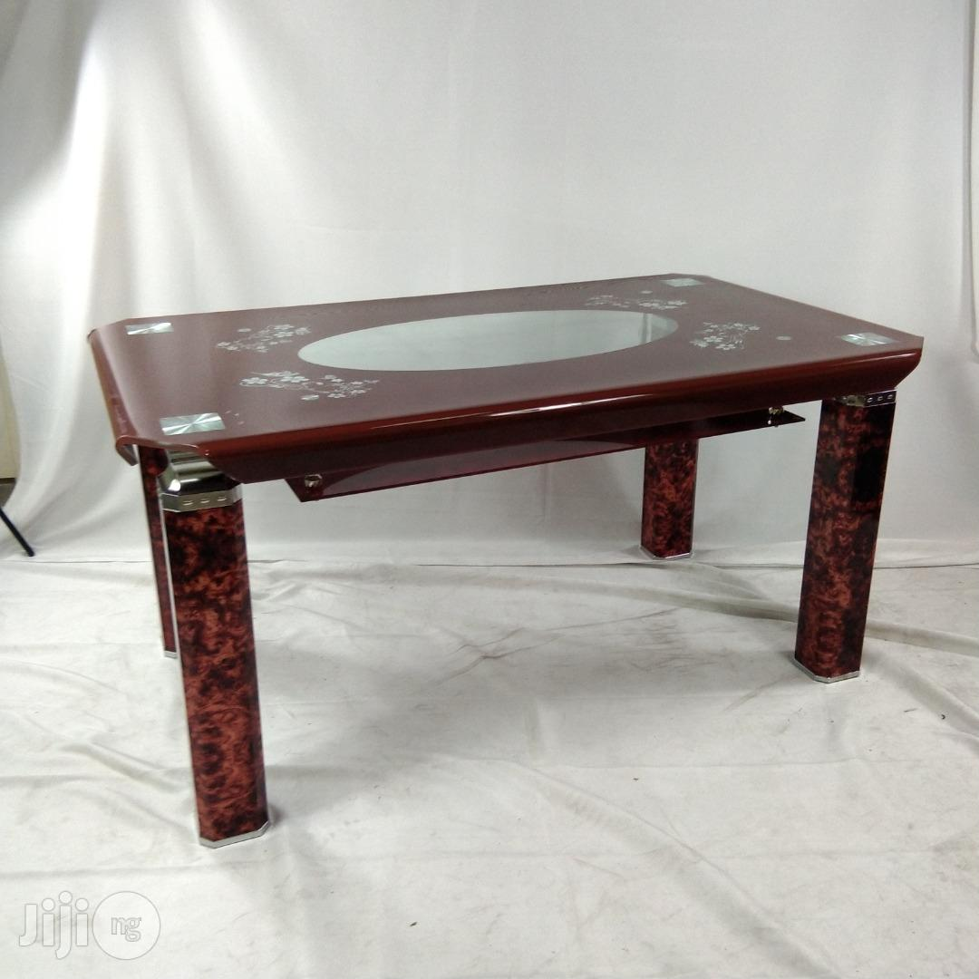 Dinning Table :Glass Dinning Table.
