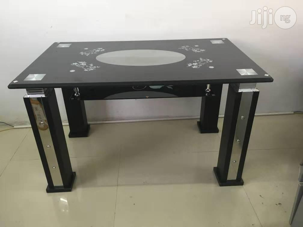 Dinning Table :Glass Dinning Table. | Furniture for sale in Ojo, Lagos State, Nigeria