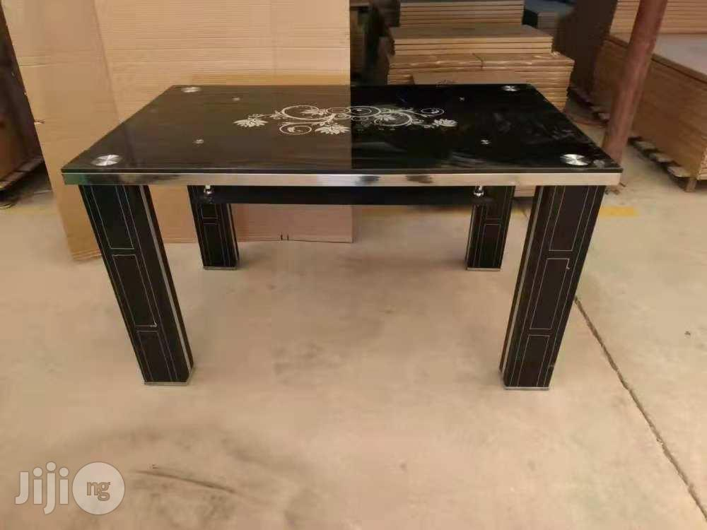 Dinning Table :Glass Dinning Table.   Furniture for sale in Ojo, Lagos State, Nigeria