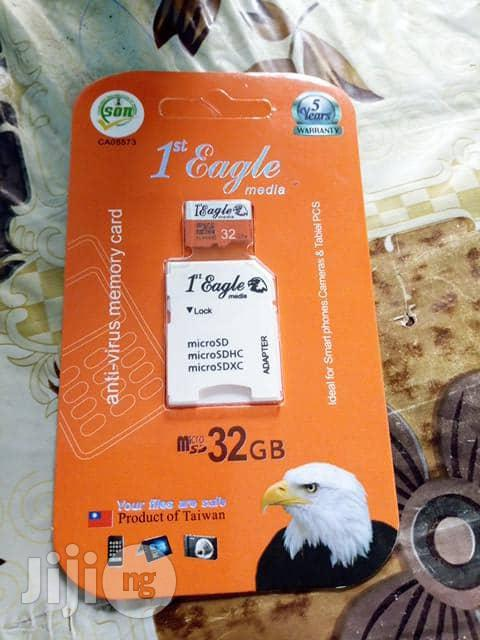 Eagle 8GB Memory Card | Accessories for Mobile Phones & Tablets for sale in Ikeja, Lagos State, Nigeria