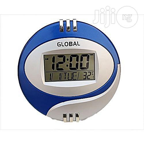 Mini Digital Wall Clock - Global Brand