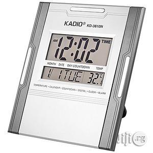 Digital Clock With Temperature Reader - Kadio Brand   Home Accessories for sale in Lagos State, Lagos Island (Eko)