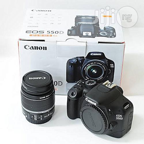 Canon EOS 550D DSLR Camera Black