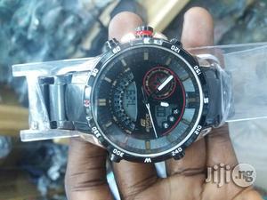 Edifice Casio Digital/Analog Wrist Watch | Watches for sale in Lagos State, Lagos Island (Eko)