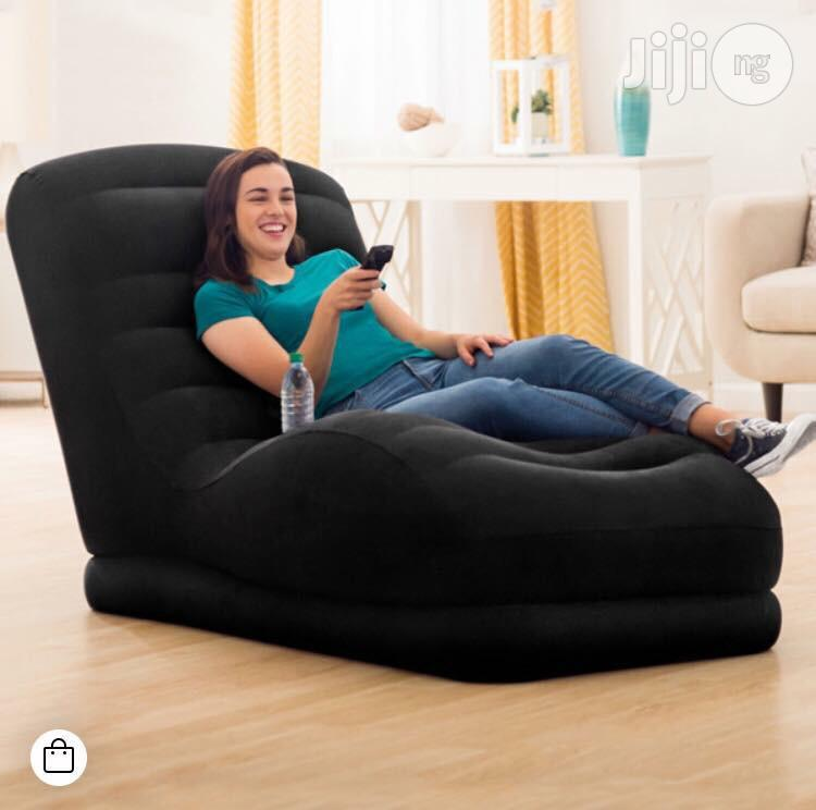 Intex Mega Lounge With Built-in Cup Holder