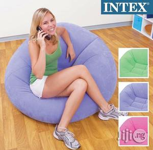 Intex Inflatable Beanless Bag Chair   Furniture for sale in Lagos State