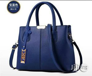 Blue Leather Handbags | Bags for sale in Lagos State, Ikeja