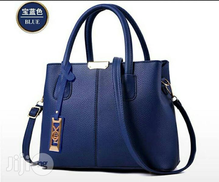 Blue Leather Handbags