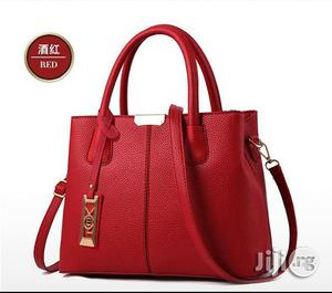 Leather Handbags - Red | Bags for sale in Lagos State, Ikeja