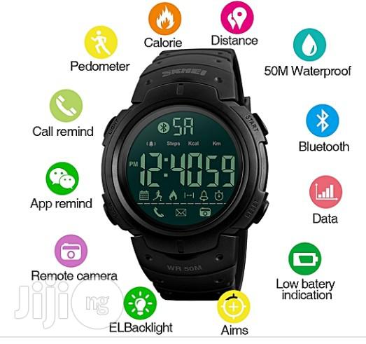 Archive: Skmei Sport Fashion Pedometer Remote Camera Calorie Bluetooth Smart Watch Reminder Digital Wristwatches