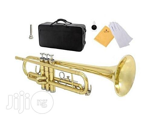 IMC Professional Trumpet - Gold | Musical Instruments & Gear for sale in Wuse 2, Abuja (FCT) State, Nigeria