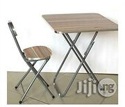 Adjustable Reading/ Laptop Table and Chair(Wood Metal) | Furniture for sale in Lagos State, Lagos Island