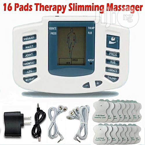 16 Pads Electrical Stimulation Full Body Relax Muscle Therapy Massager