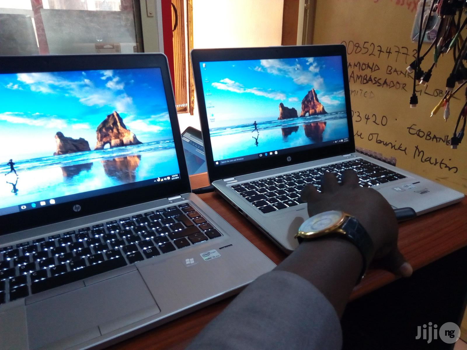 Laptop HP EliteBook Folio 9470M 4GB Intel Core I5 HDD 500GB   Laptops & Computers for sale in Wuse 2, Abuja (FCT) State, Nigeria