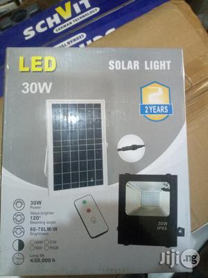 30W Solar LED Floodlight
