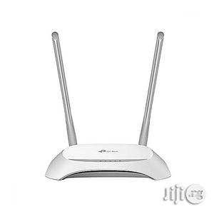 TP Link 300mbps Wireless N Router TL-WR840N | Networking Products for sale in Lagos State, Ikeja