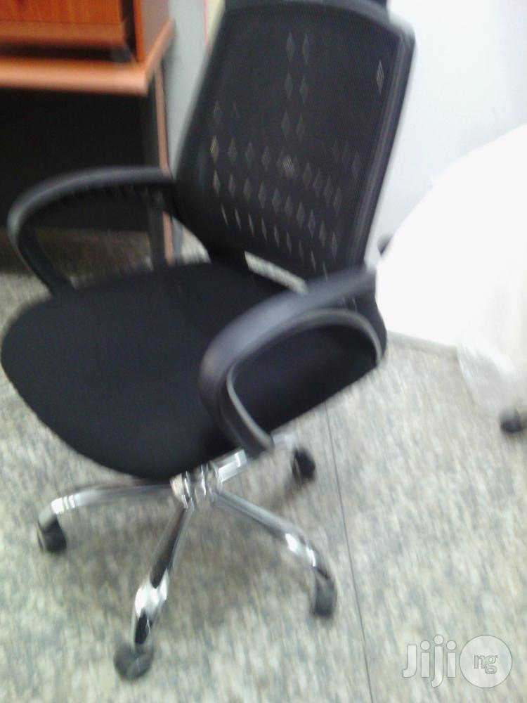 Executive Fabric Net Chair