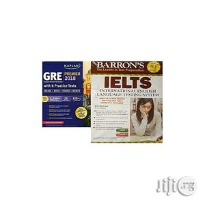Kaplan GRE Premier 2018 + Barron's IELTS With MP3 CD - 5th Edition   Books & Games for sale in Lagos State, Oshodi