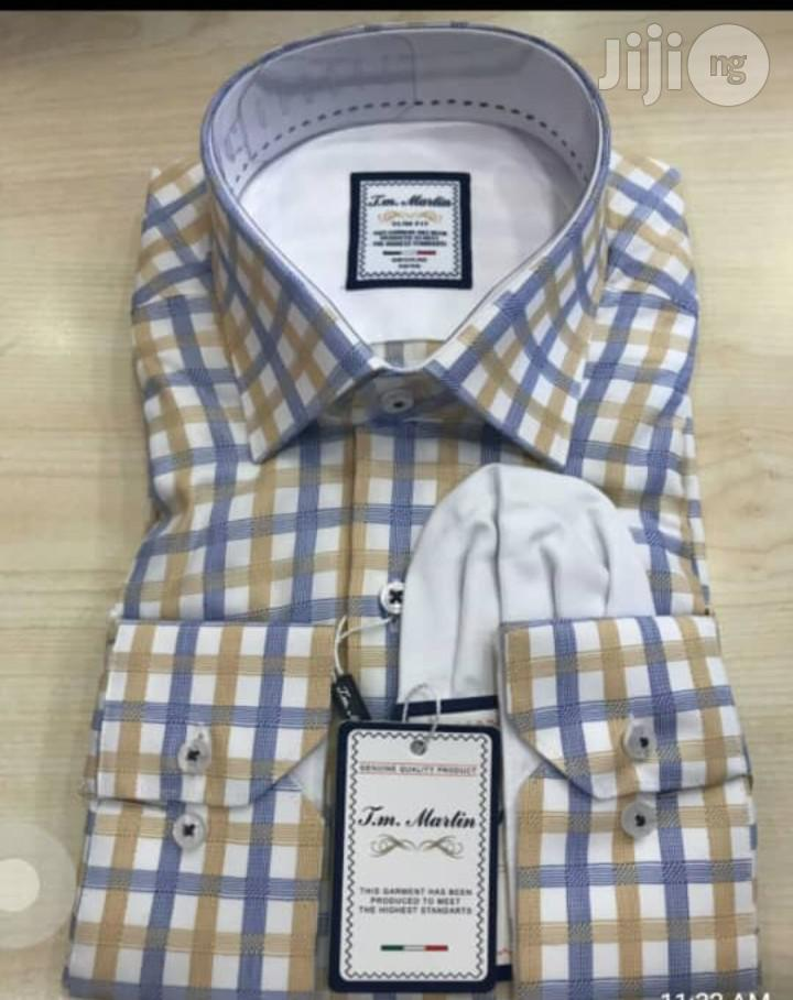 Turkish T.M Martin Man's Shirts | Clothing for sale in Lagos Island, Lagos State, Nigeria