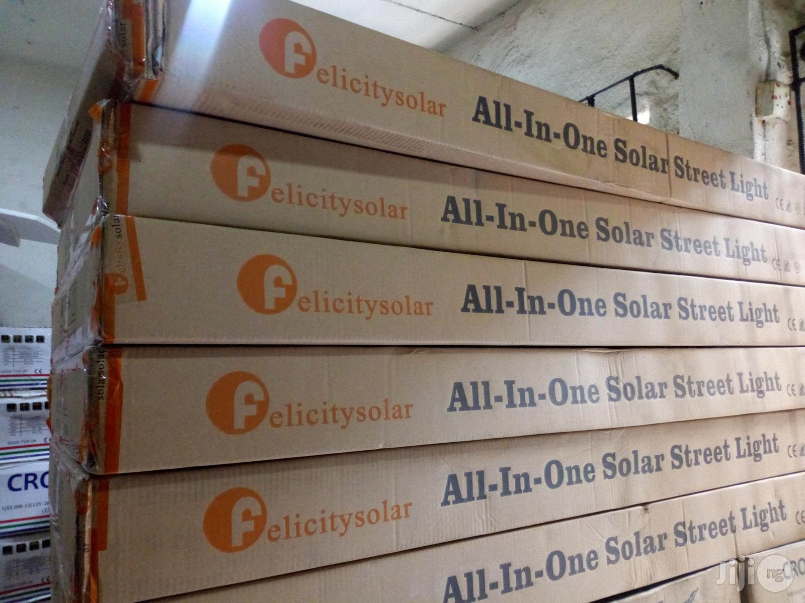 Felicity Solar 60W All-in-one Solar Street Light | Solar Energy for sale in Ojo, Lagos State, Nigeria