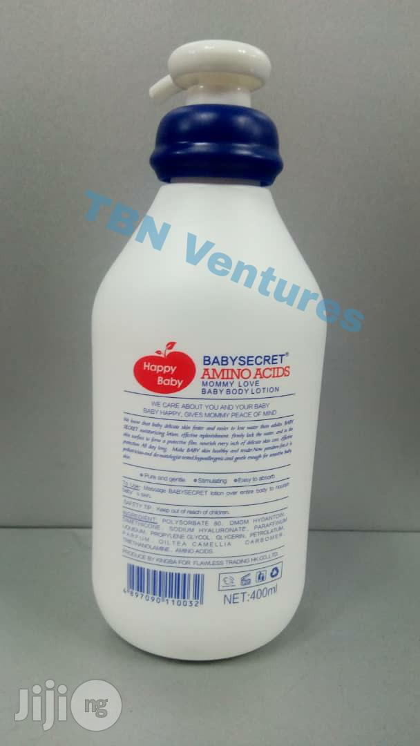 Baby Secret Amino Acids Baby Body Lotion | Baby & Child Care for sale in Lagos State, Nigeria