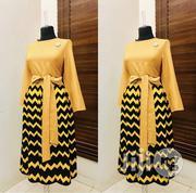 Turkey Mustard Dress | Clothing for sale in Abuja (FCT) State, Garki 2