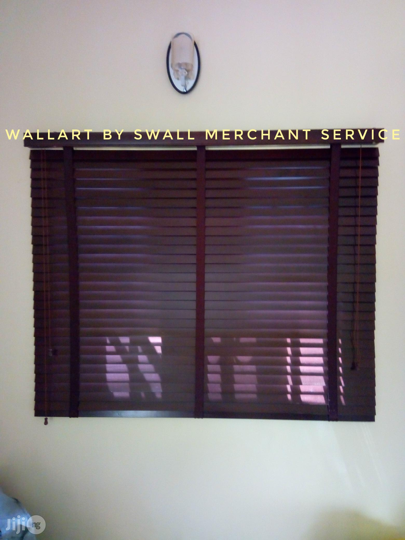 Sales And Installation Service Of Window Blinds 3d Wall Panels And Wallpapers | Building & Trades Services for sale in Asokoro, Abuja (FCT) State, Nigeria