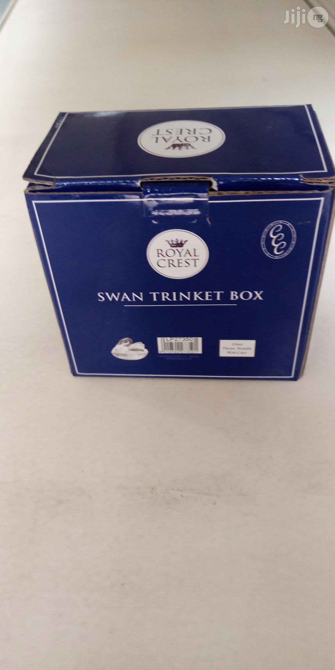Swan Trinket Box | Home Accessories for sale in Ikeja, Lagos State, Nigeria