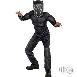 Children Padded Black Panther Costume 4-10years   Children's Clothing for sale in Lagos State, Amuwo-Odofin