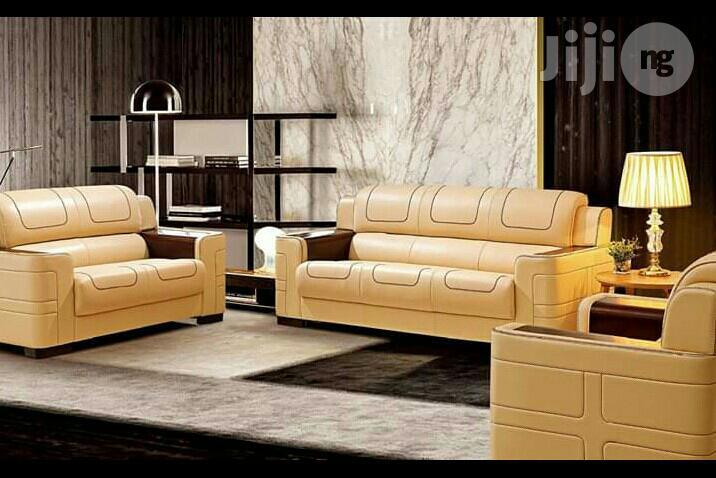 Pure Leather Italian Leather Sofa