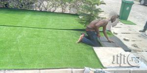 Purchase Synthetic Green Turf For Landscape Decor | Landscaping & Gardening Services for sale in Rivers State, Port-Harcourt