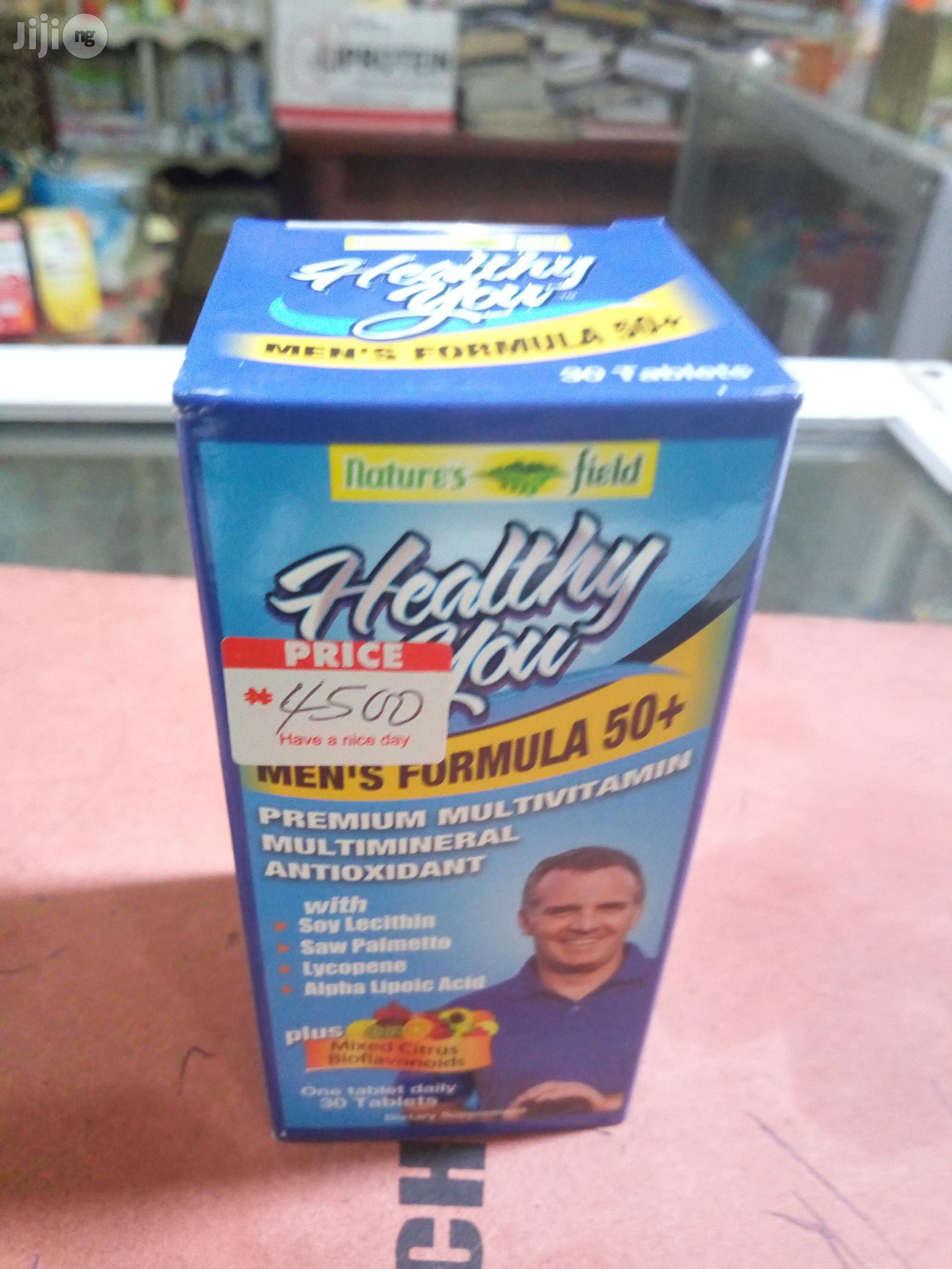 Healthy You Men's Formula Capsule.