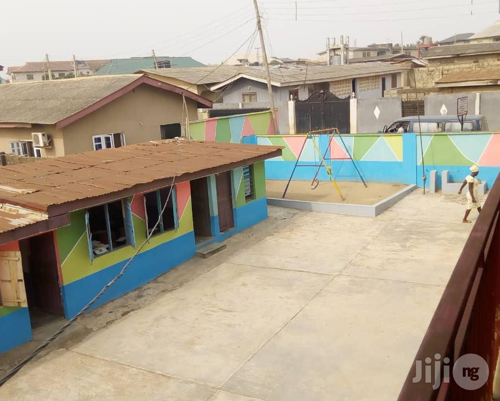 School Building of Creche, Nursery & Primary At Akute Ojodu For Sale.