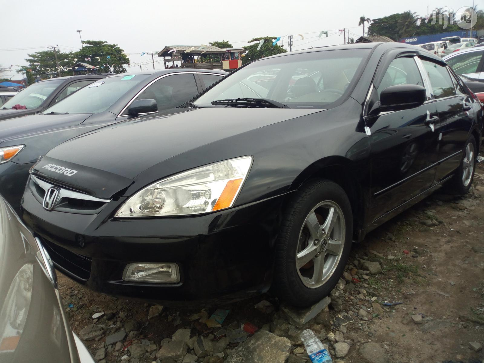 Honda Accord 2.4 Type S Automatic 2005 Black