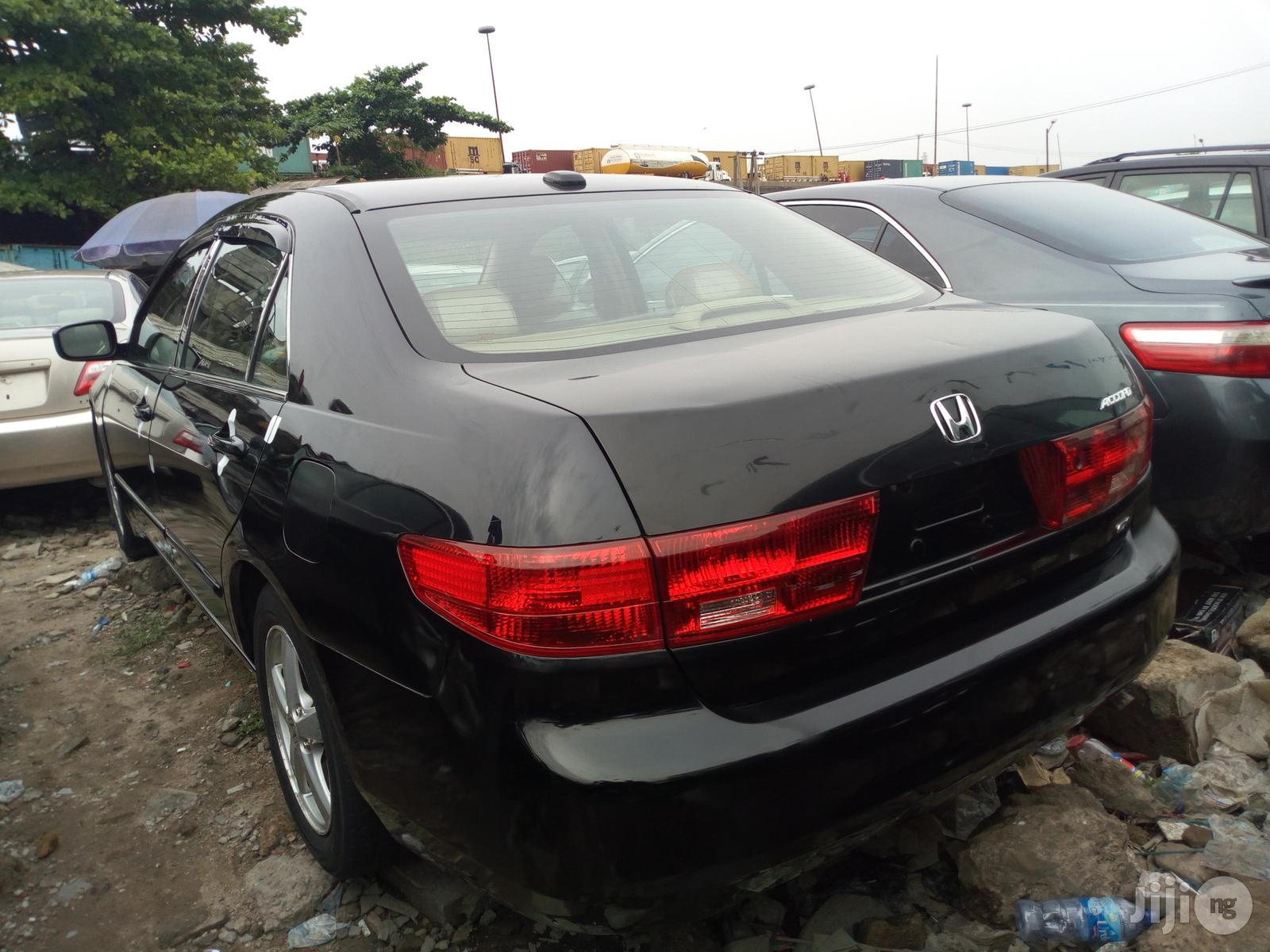 Honda Accord 2.4 Type S Automatic 2005 Black | Cars for sale in Apapa, Lagos State, Nigeria