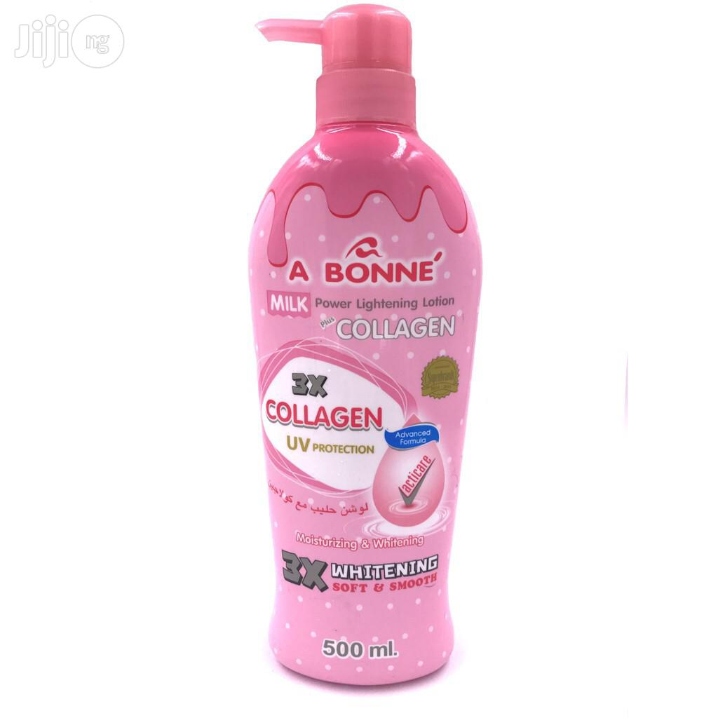 Abonne Miracle Milk Spa Tomatoes Extract Lotion | Skin Care for sale in Amuwo-Odofin, Lagos State, Nigeria