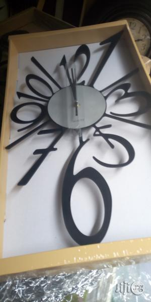 Wall Clock Black | Home Accessories for sale in Lagos State, Surulere