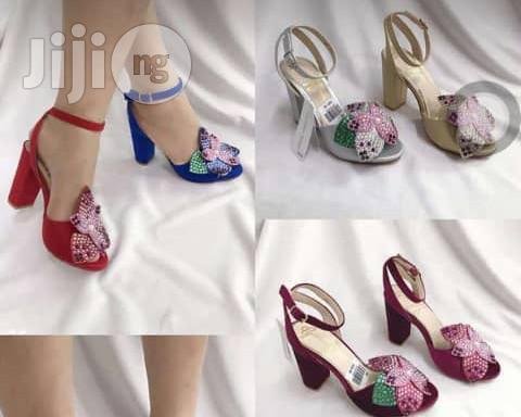 Quality Block Heel Sandal