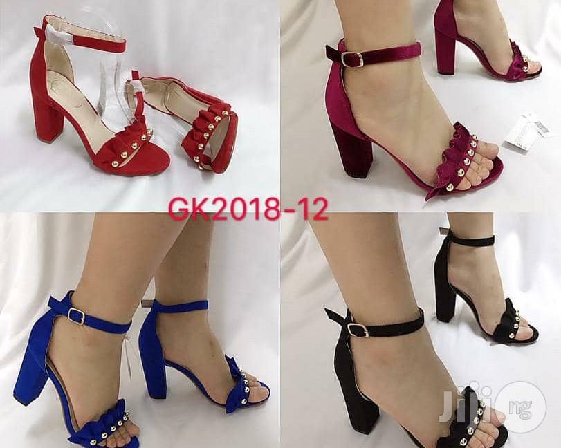Quality Block Heel Sandal | Shoes for sale in Osogbo, Osun State, Nigeria