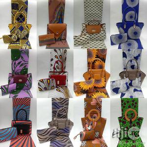 African Quality Fabrics Ankara Bags With 6 Yards Wax and Purse I | Bags for sale in Lagos State, Ikeja