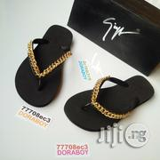New Giuseppe Zanotti Black Unisex Slippers | Shoes for sale in Lagos State, Ojo