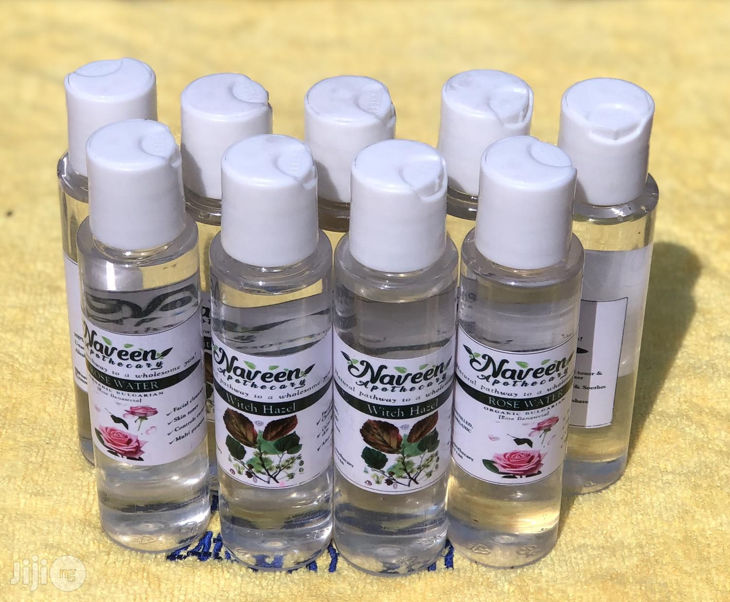 Floral Waters: Witch Hazel, Bulgarian Rose Water, Lavender Water | Skin Care for sale in Uyo, Akwa Ibom State, Nigeria