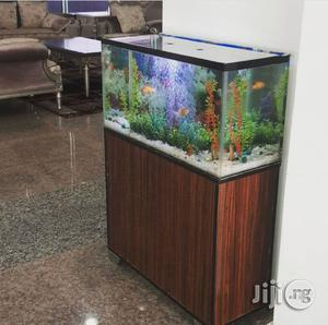 Aquarium With Cabinet   Fish for sale in Rivers State, Port-Harcourt